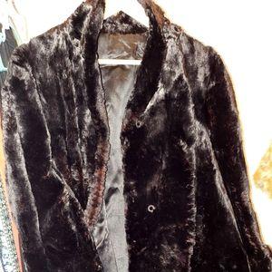 🎬👠Vintage Black Seal Fur Coat👠🎬